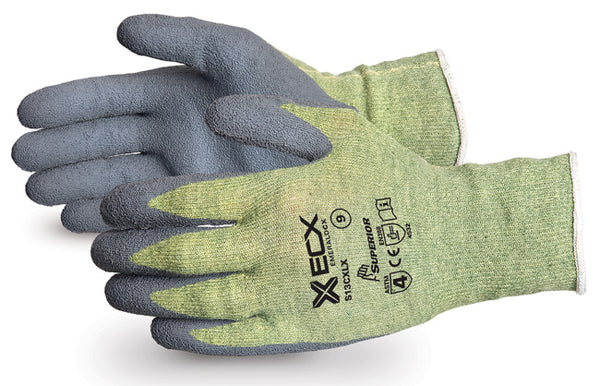Emerald CX Kevlar Wire-Core Gloves with Latex Palms - Size 8