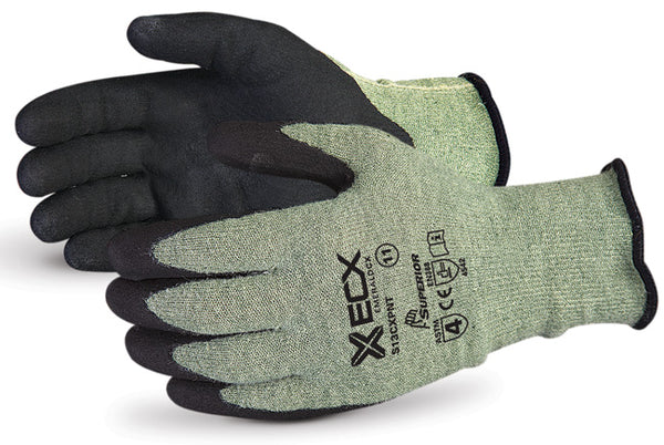Emerald CX Kevlar Wire-Core Gloves with Micropore Nitrile Palms - Size 11