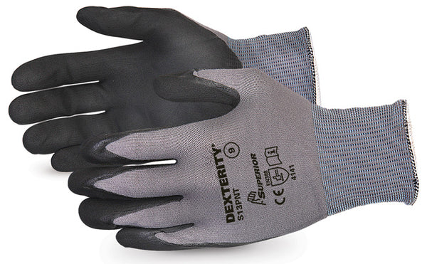 Dexterity Black Widow Grip High Abrasion Glove