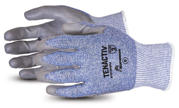 TenActiv Composite Knit Cut-Resistant Glove with Polyurthane Palms - Size 9