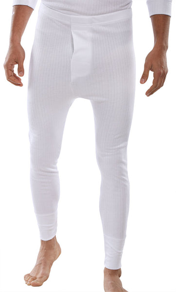 White Thermal Long Johns - Ribble Europe