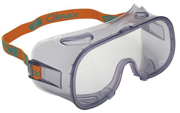 Climax 539 EN166 Non Vented Goggles - Box of 8