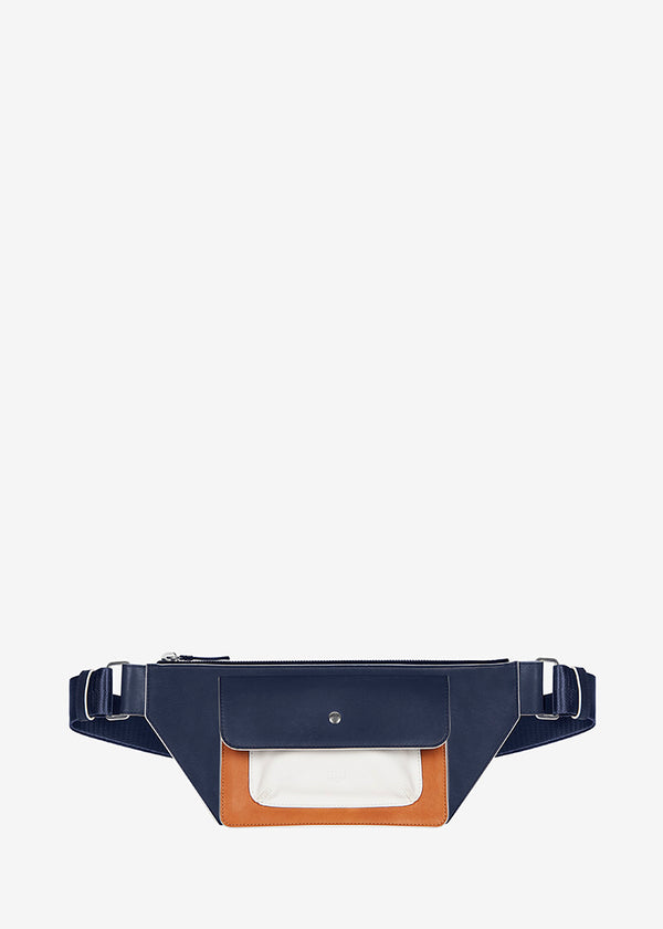 LE 078 Navy - Camel - White
