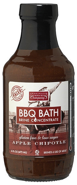 Paleo, fat free, gluten free, Barbecue brine great on grilled or smoked pork and poultry.