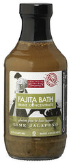 Paleo friendly, Gluten Free, Lime Jalapeno Fajita Bath Brine Concentrate