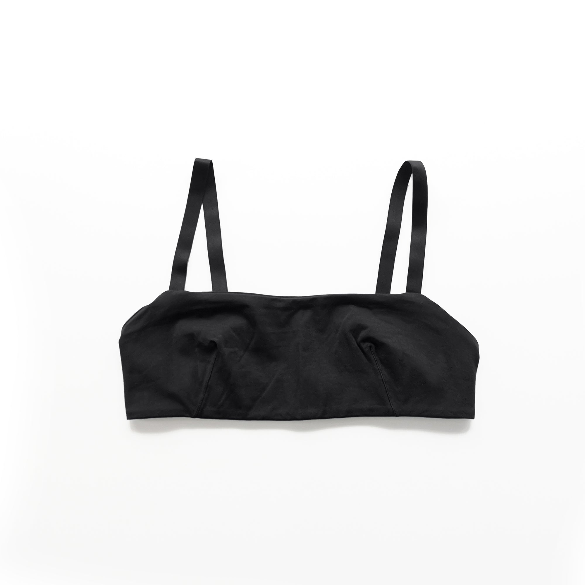 Bandeau Bra - Black - The Lake