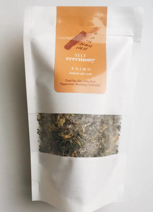 Invigorating Herbal Salt Soak - The Lake