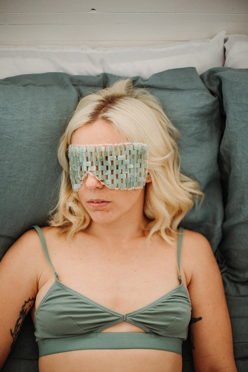 Jade Eye Mask - The Lake