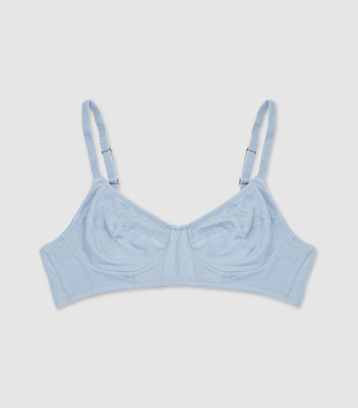 NICO Full Cup Wirefree Bralette Powder Blue - The Lake