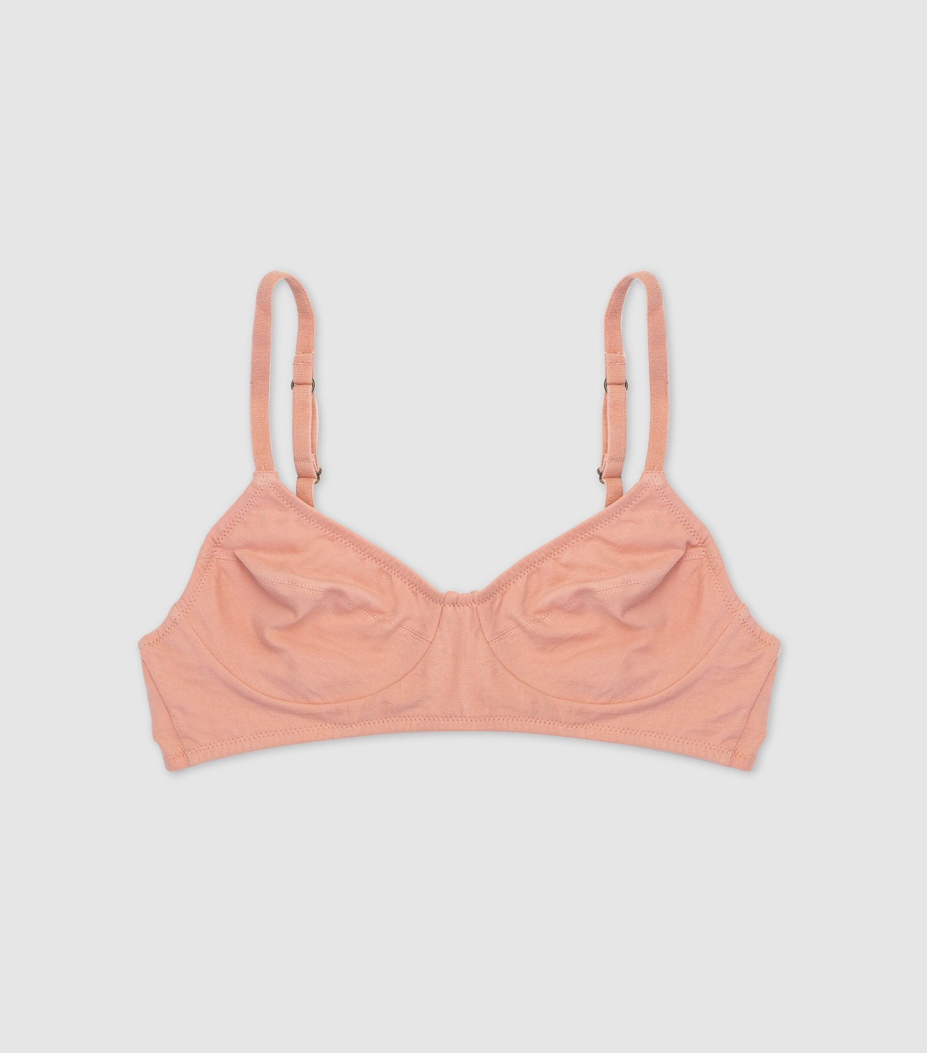 Full Cup Wirefree Bralette Rose