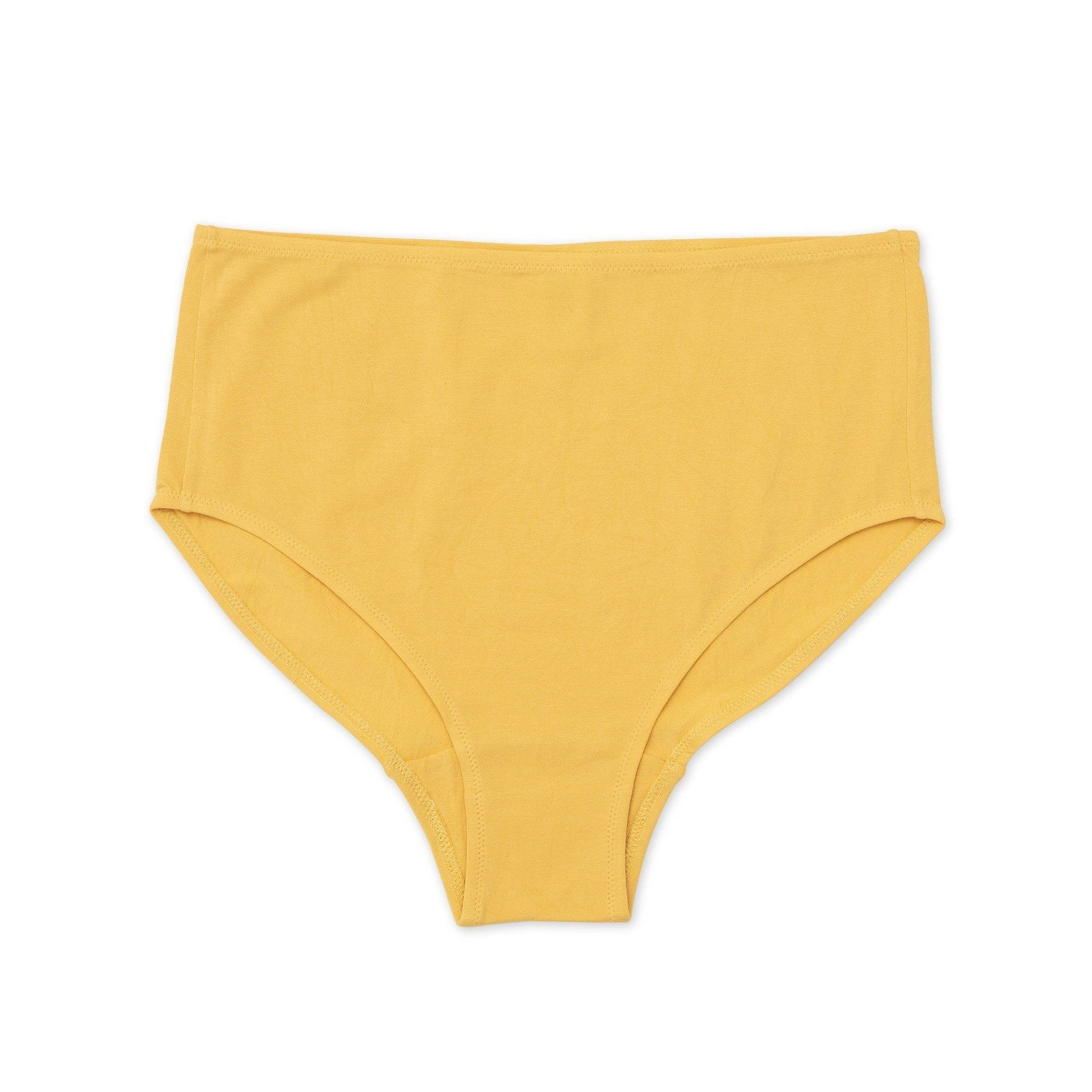 Mid Rise Brief Marigold Natural Plant Dye