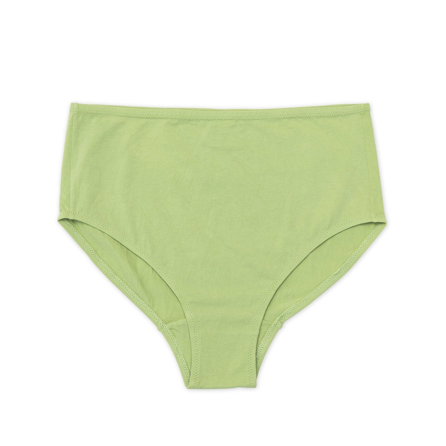 NICO Mid Rise Brief Sage Natural Plant Dye - The Lake