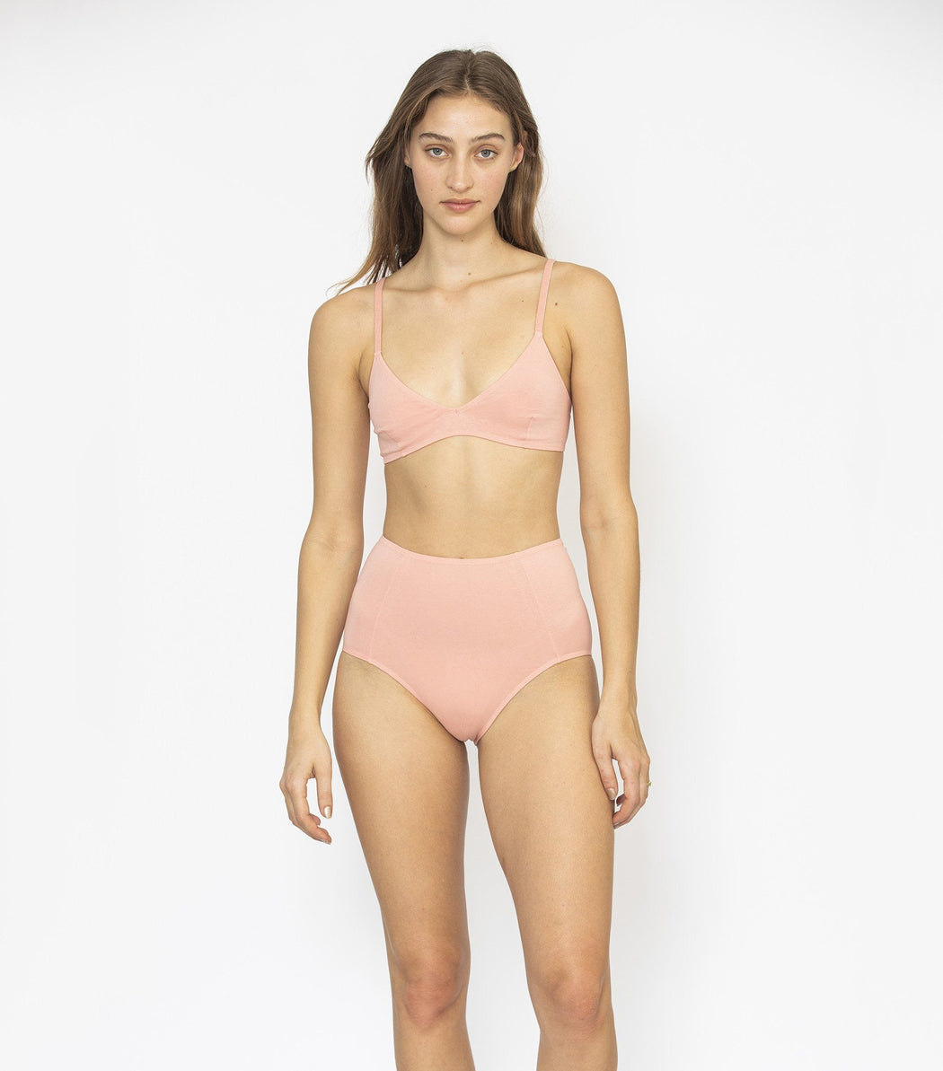 NICO Underwear High Waisted Brief Rose - The Lake