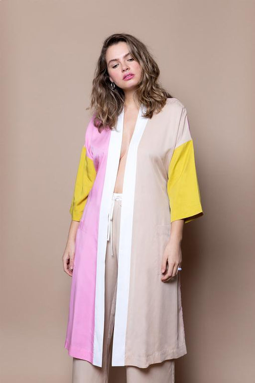 The Classic Robe Pink Mix - The Lake