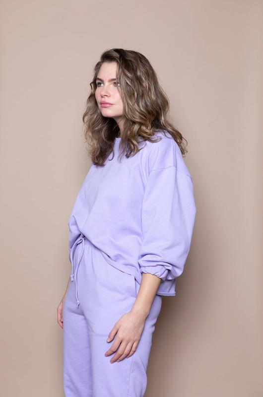 The Big Sweatshirt – Lilac – - The Lake
