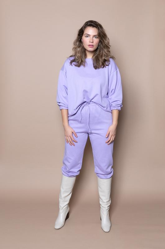 The Crop Jogger – Lilac - The Lake