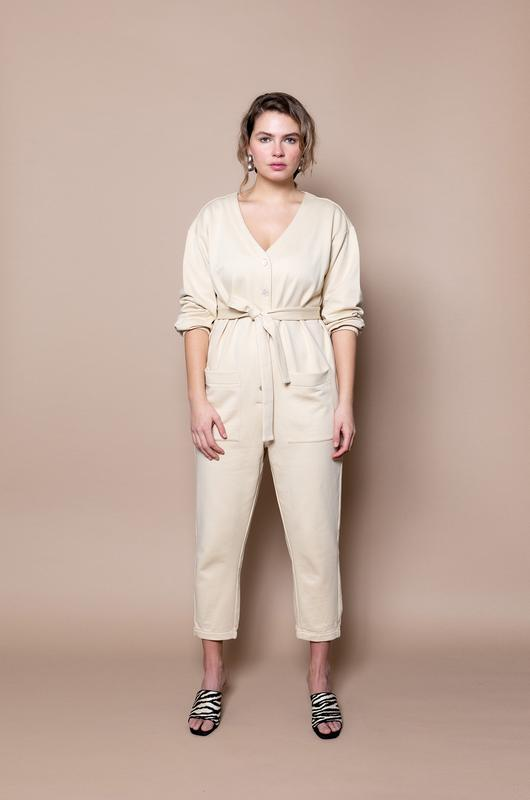 The Jogger Jumpsuit – Marcona - The Lake