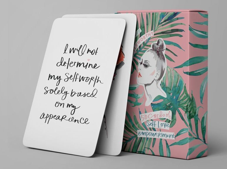 50 Cards of Self-Love Empowerment by Styleworthy - The Lake