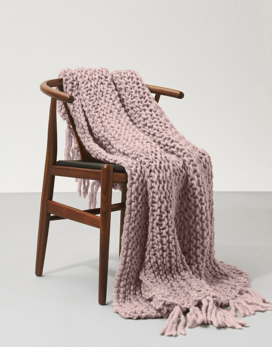 LIL' TAKE ME HOME BLANKET - BEGINNER KNITTING KIT - The Lake