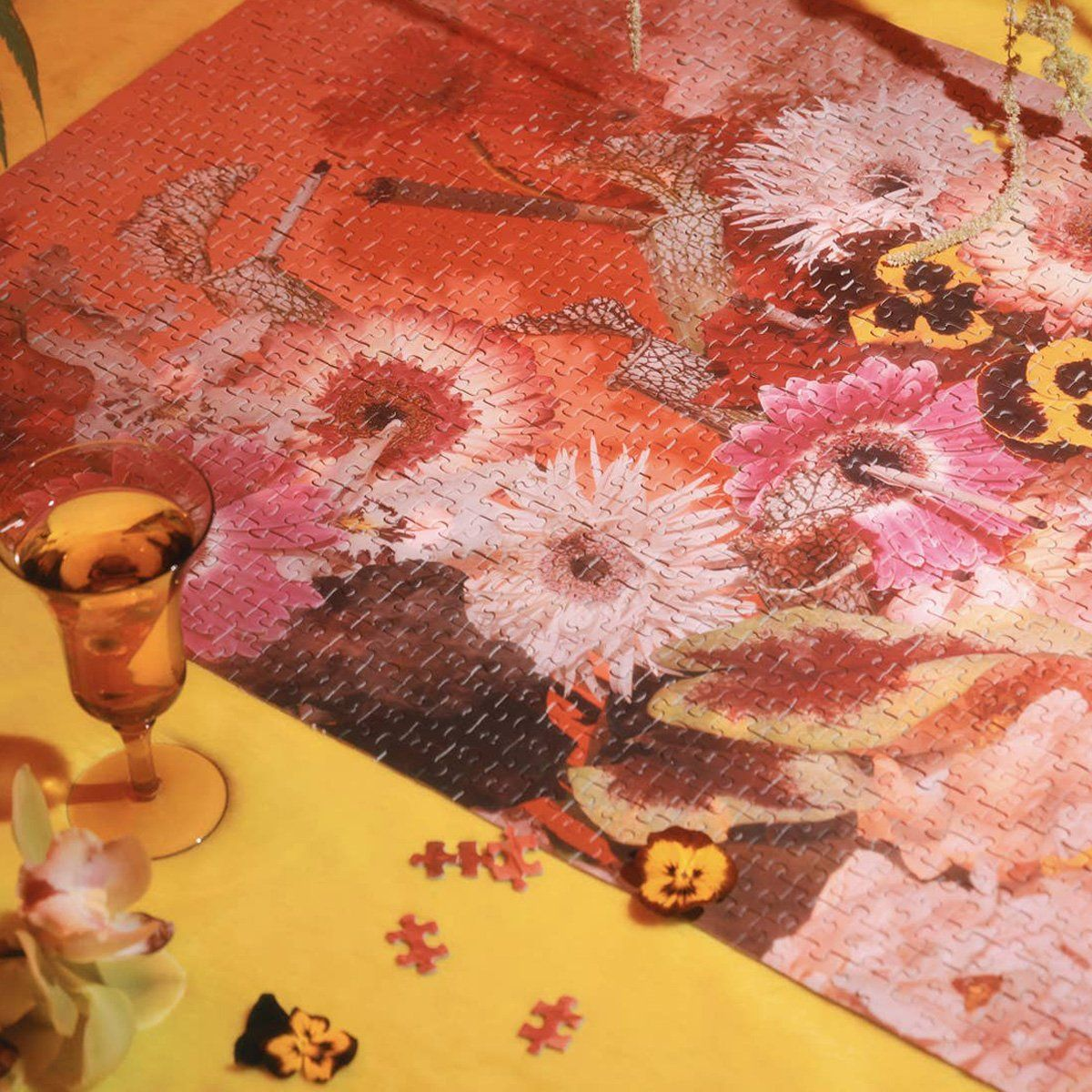 Piecework Puzzles - Smoke & Petals - The Lake