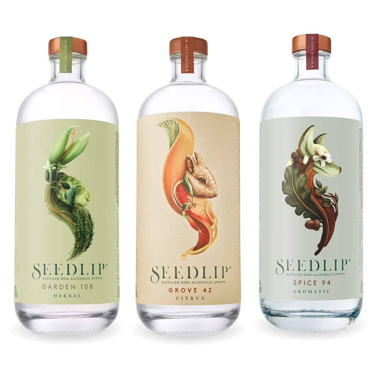 Seedlip Distilled Non-Alcoholic Spirits Collection