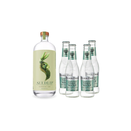 SEEDLIP GARDEN 108 & ELDERFLOWER TONIC - The Lake