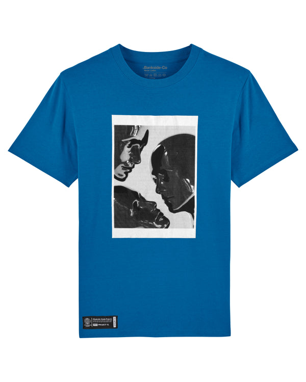 Blue Faces T-shirt