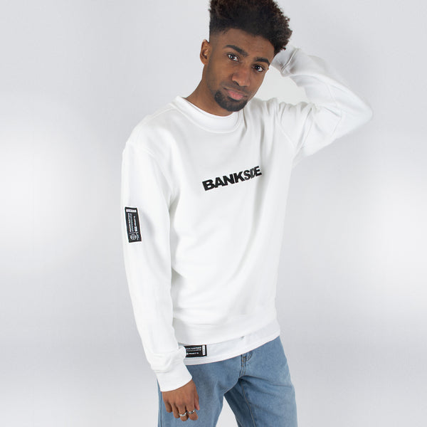 White 3D Sweatshirt
