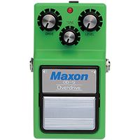 Maxon OD-9 Overdrive Reissue Tube Screamer pedal MIJ