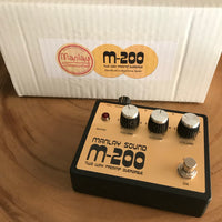 "Manlay Sound M200 - Marshall Major aka ""The Pig"" sound in a box"