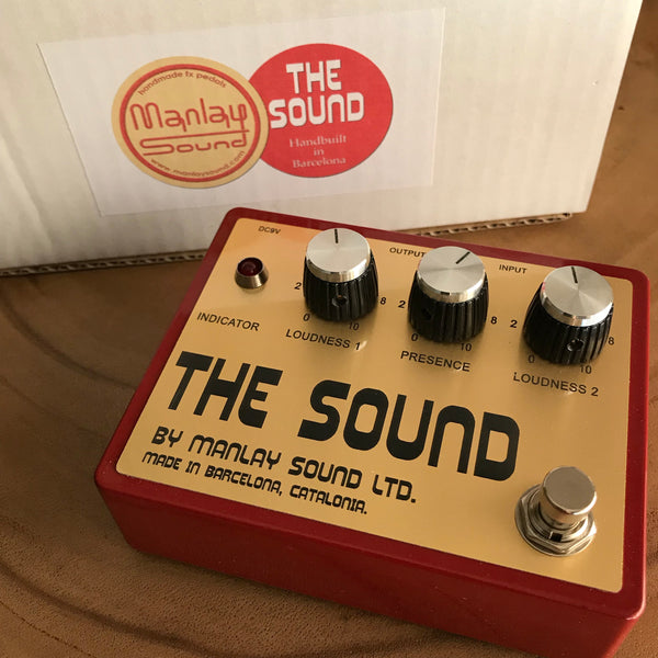 Manlay Sound : The Sound plexi -style overdrive pedal Made in Spain