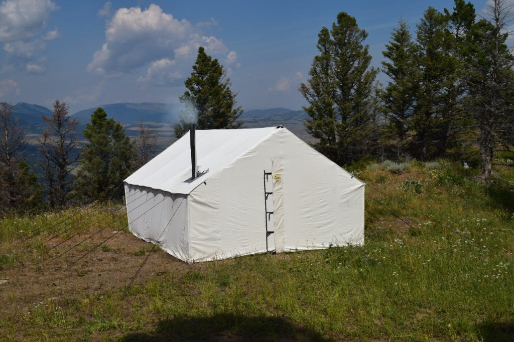 Canvas Wall Tent ... & Montana Canvas - Premium 12 oz. Canvas Wall Tent