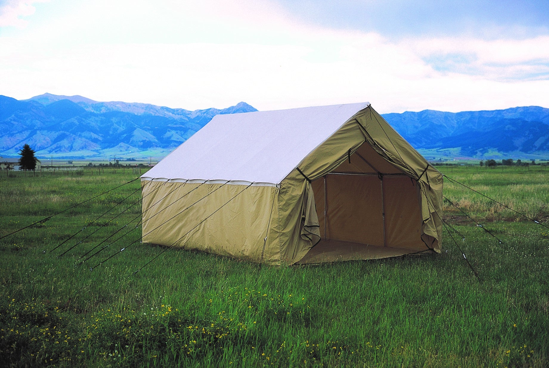 : montana canvas wedge tent - memphite.com