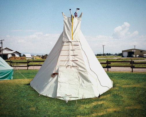 9 ft Child Tipi with Metal Frame