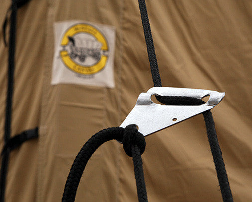 Tent Rope Tensioners ... & Montana Canvas - Tent Rope Tensioners