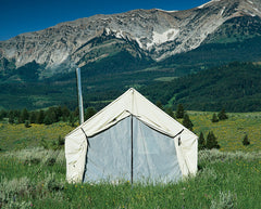 Traditional 10 oz. Canvas Wall Tent - Custom