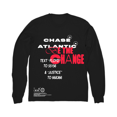 Be The Change Long Sleeve