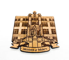 Load image into Gallery viewer, Mother of Mercy High School Ornament, Cincinnati Ohio, Personalized Wood Ornament
