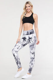 Tie Dye Workout Leggings