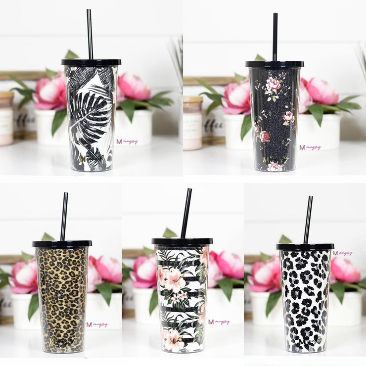 Tumbler with Straw 20oz