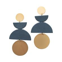 Norwich Earring ~Navy~