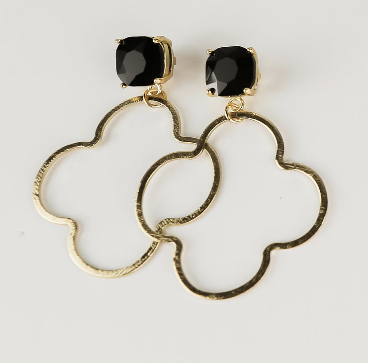 Melbourne Earrings ~Black~