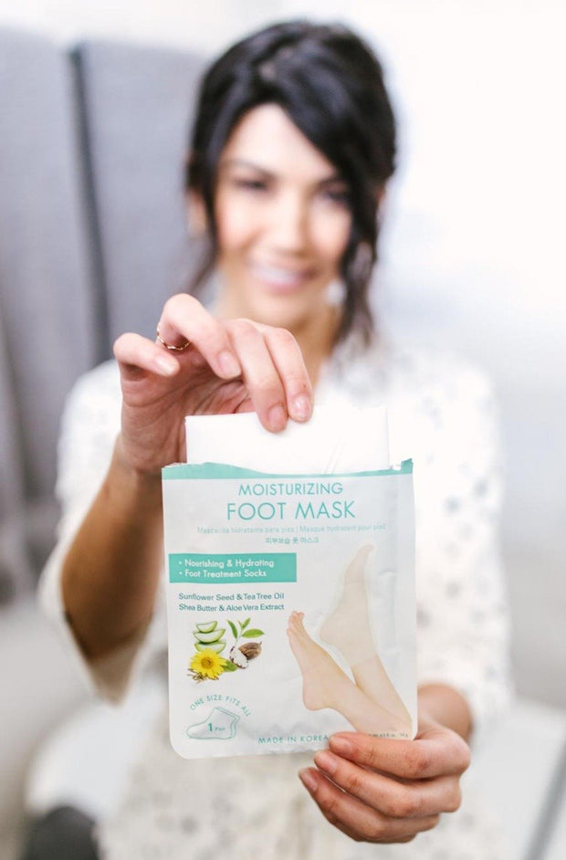 Soft As A Baby Moisturizing Foot Mask