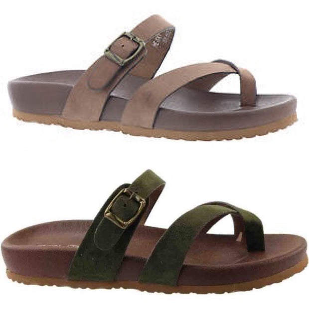 Heavenly Hipster Buckle Sandal