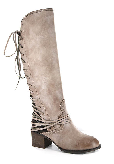 Annabel Lace Up Boot ~Brown~
