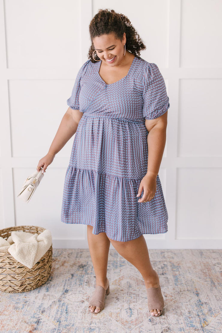 Blurred Spot Dress