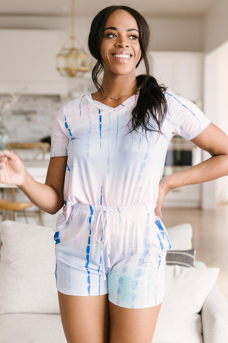 Beat The Blues Tie Dye Top