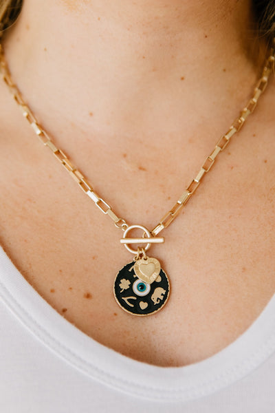 Evil Eye Charm Necklace