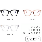 The Basic Girl Blue Light Glasses