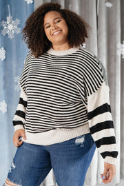 Simone Striped Sweater *